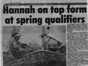 Hannah top form at spring qualifiers