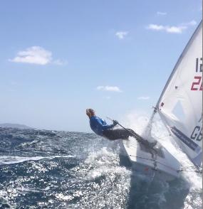 Champagne sailing!