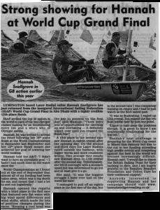 Lymington Times article